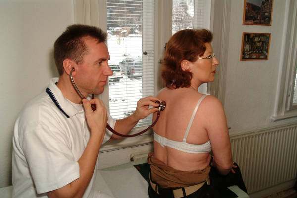 Male physical military exam with cum shot 5