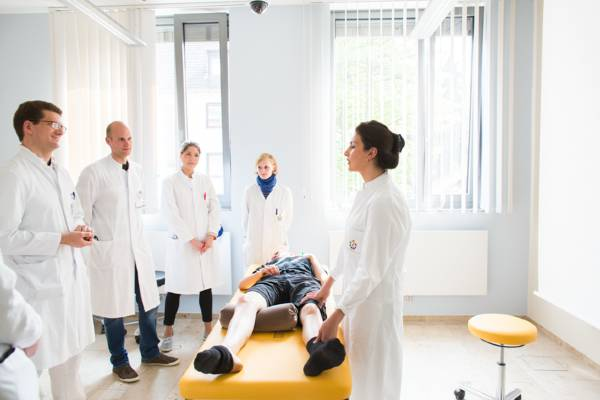 The teaching and learning center of the Faculty for Medicine of Duisburg-Essen University