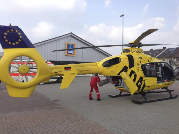 Rescue helicopter Christoph 5