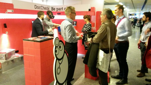 DocCheck's booth at the ECR: Gallery, G/20, first level