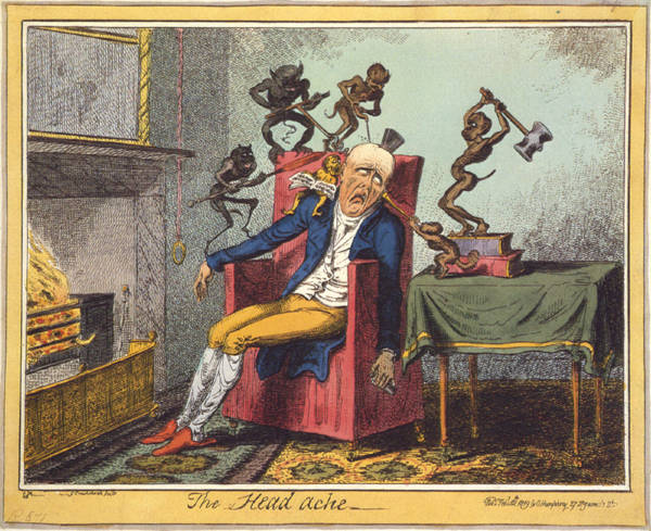 George Cruikshank – The Head Ache