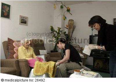 Altenpflege, elderly care