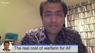 Warfarin for AF: the true costs