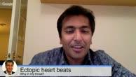 Ectopic heart beats - Why do i feel them in my throat?