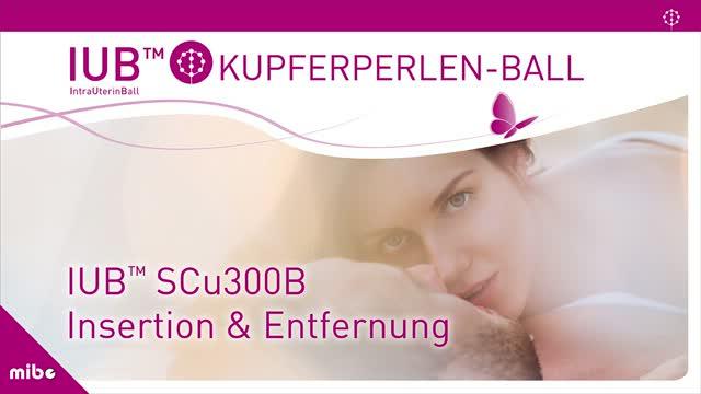 Kupferperlenball - Kupferball IUB in der Frauenarztpraxis
