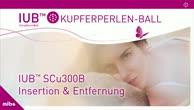 Kupferperlenball - Kupferball IUB in der Frauenarztpraxis am Potsdamer Platz
