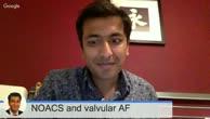 NOACS and Valvular AF