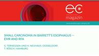 Small carcinoma in Barrett's esophagus - EMR and RFA