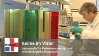 Keime im Visier - Laborstraße für Patientenscreening und mikrobiologische Diagnostik