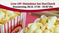 Heimkino-Event bei DocCheck 2016