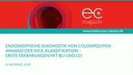 Endoskopische Diagnostik von Colonpolypen anhand der NICE Klassifikation
