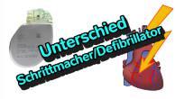 Was ist der Unterschied zwischen einem Defibrillator und einem Schrittmacher?