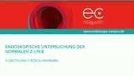Endoskopie der Z Linie - gastroösophagealer Übergang