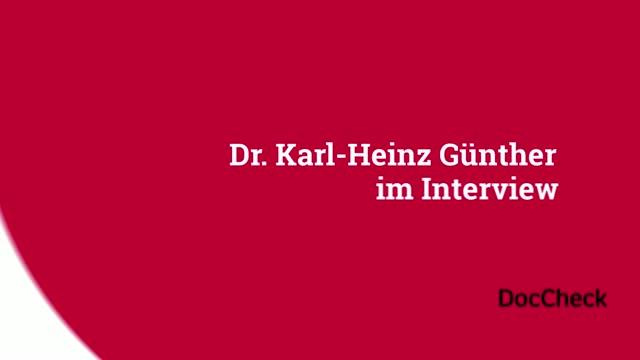 Die Community stellt sich vor | Dr. med. Karl-Heinz Günther