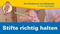 Wie lernen Kinder, Stifte richtig zu halten?