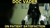 Doc Vader vs. Patient Satisfaction Scores by ZDoggMD