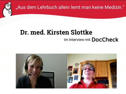 Die Community stellt sich vor   Dr. med. Kirsten Slottke