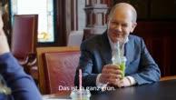 Hamburgs Bürgermeister Olaf Scholz im Interview mit Gesundheitsreporterin Toma
