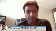 Warfarin versus the NOACs for the treatment of atrial fibrillation