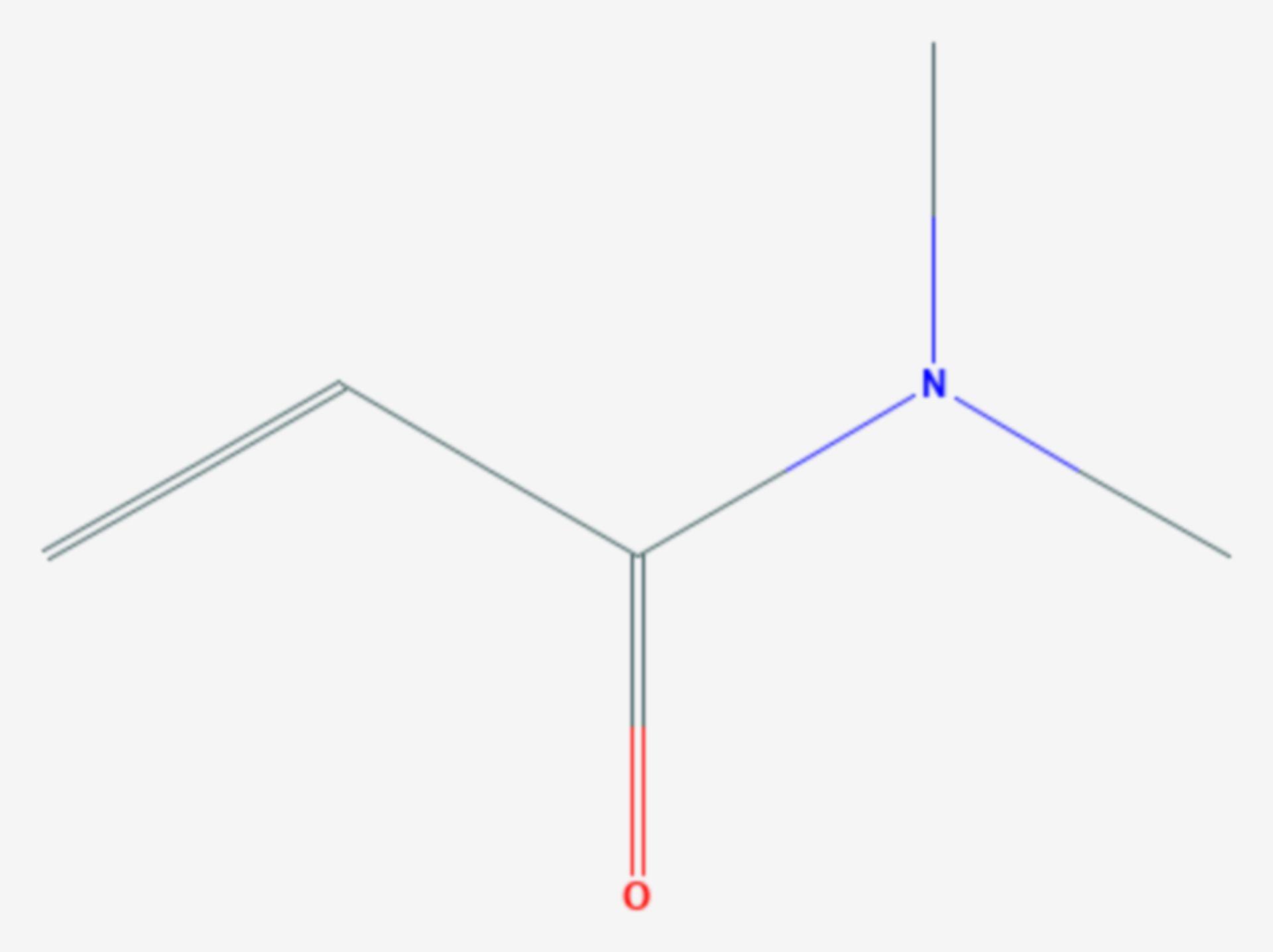 N,N-Dimethylacrylamid (Strukturformel)