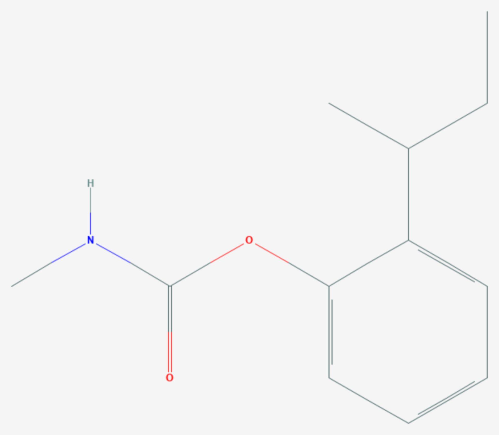 Fenobucarb (Strukturformel)