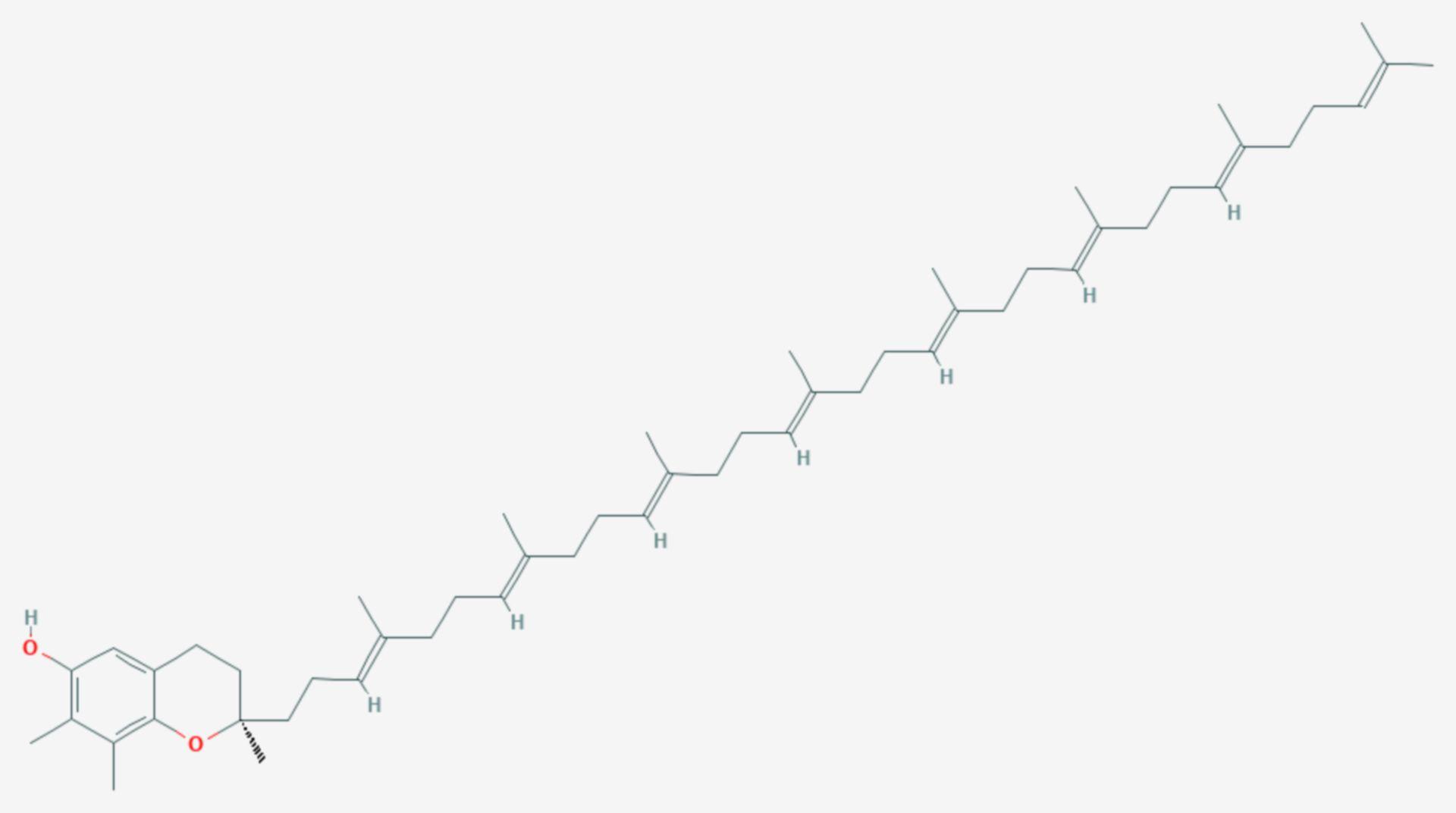 Plastochromanol-8 (Strukturformel)