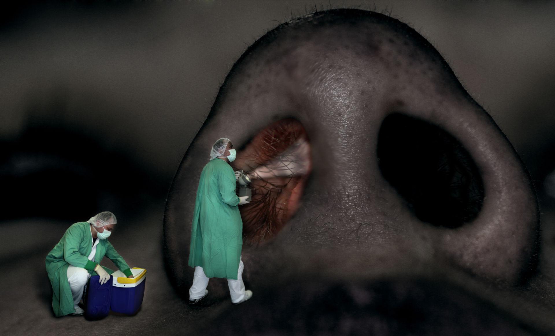 Germ inspector dark