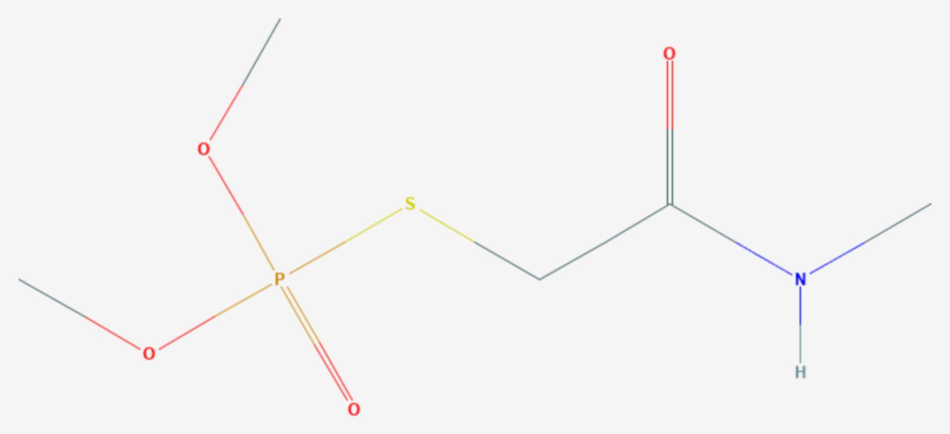Omethoat (Strukturformel)