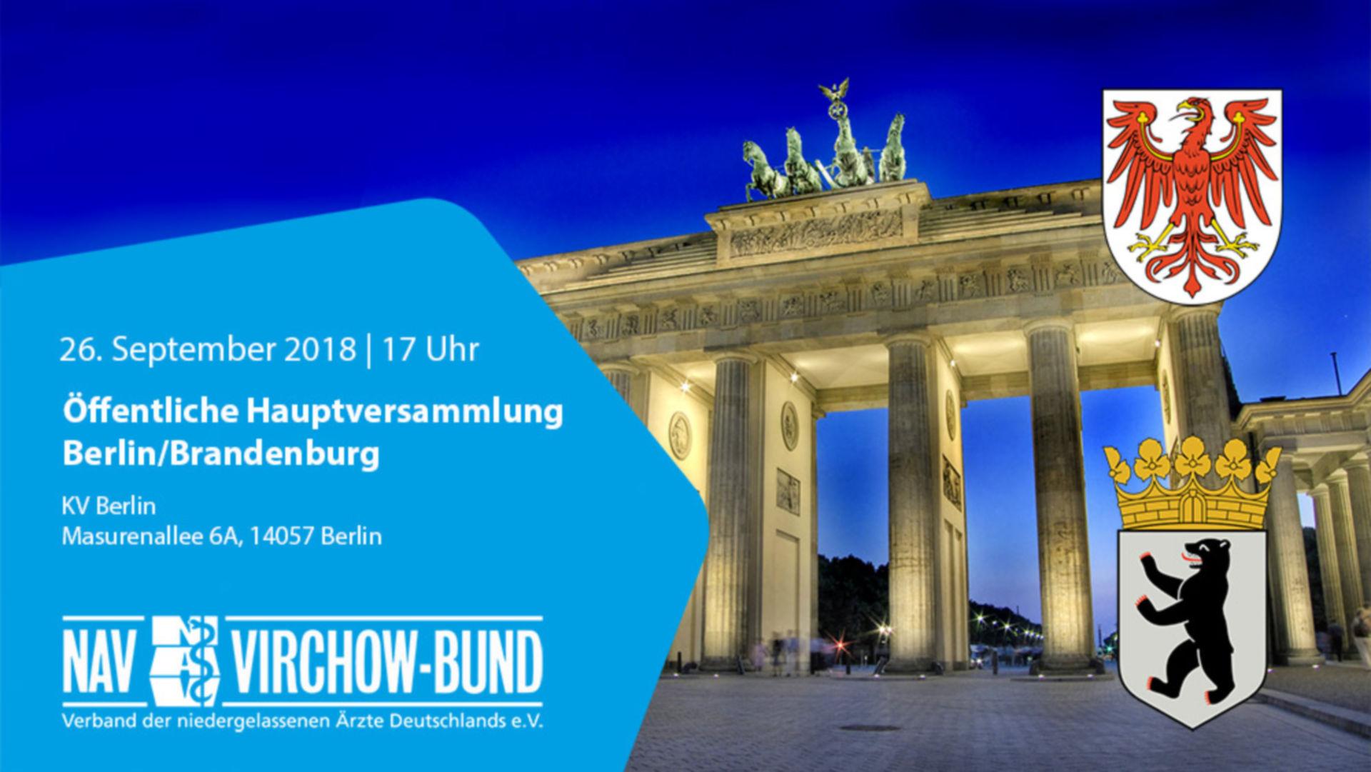 Einladung: 26.9.2018 | Podiumsdiskussion medizinische Versorgung in Berlin
