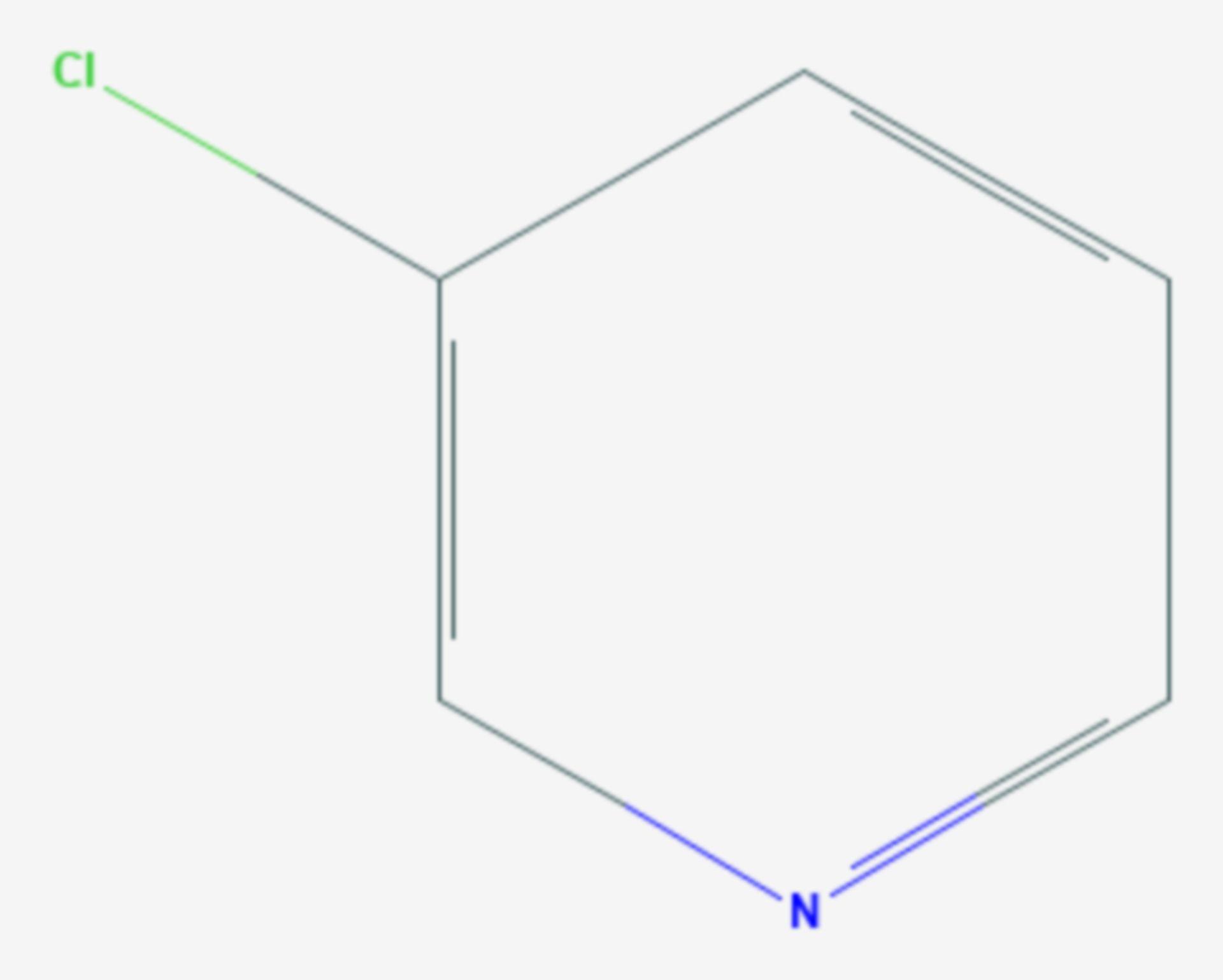 3-Chlorpyridin (Strukturformel)