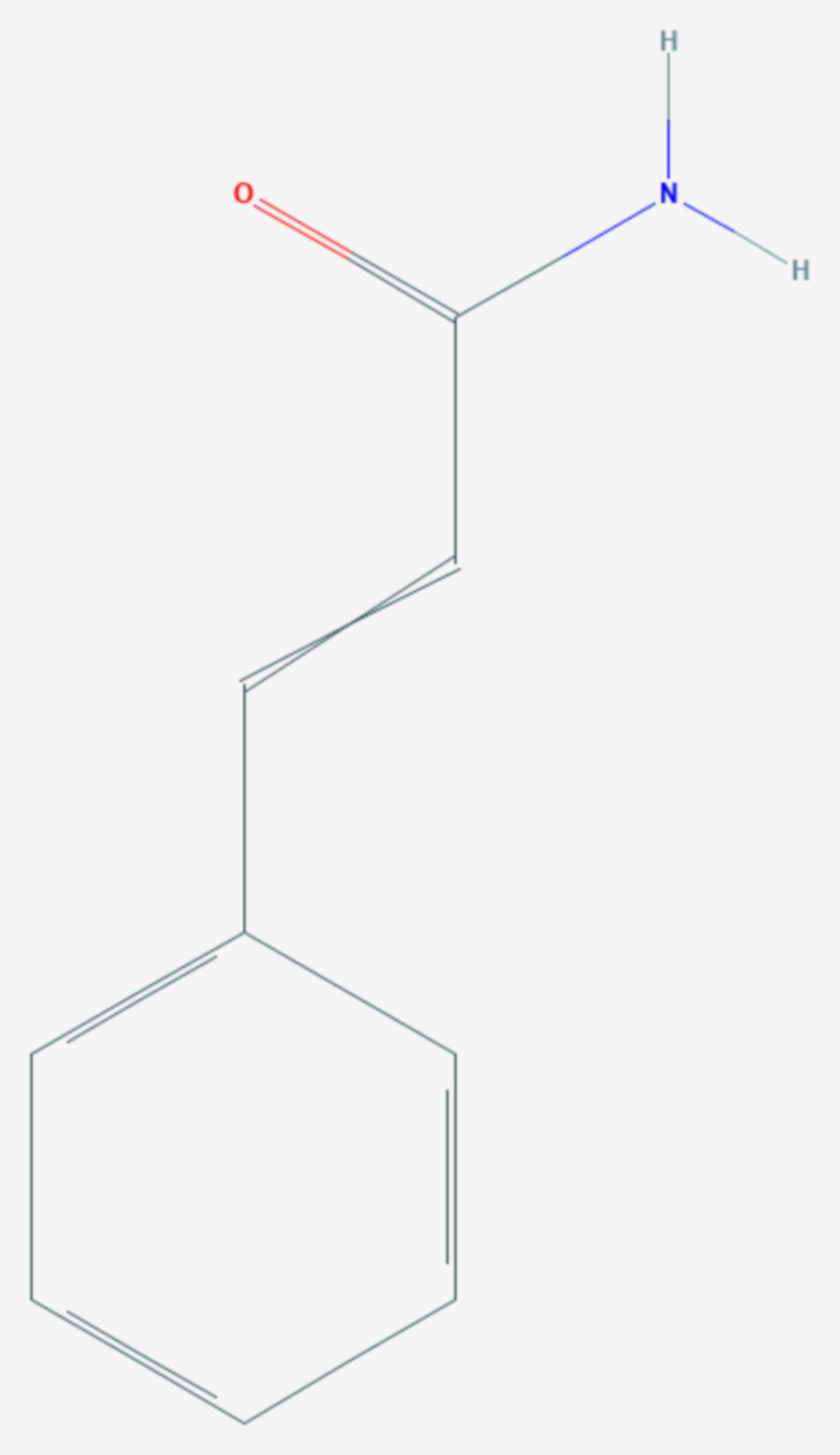 Zimtsäureamid (Strukturformel)