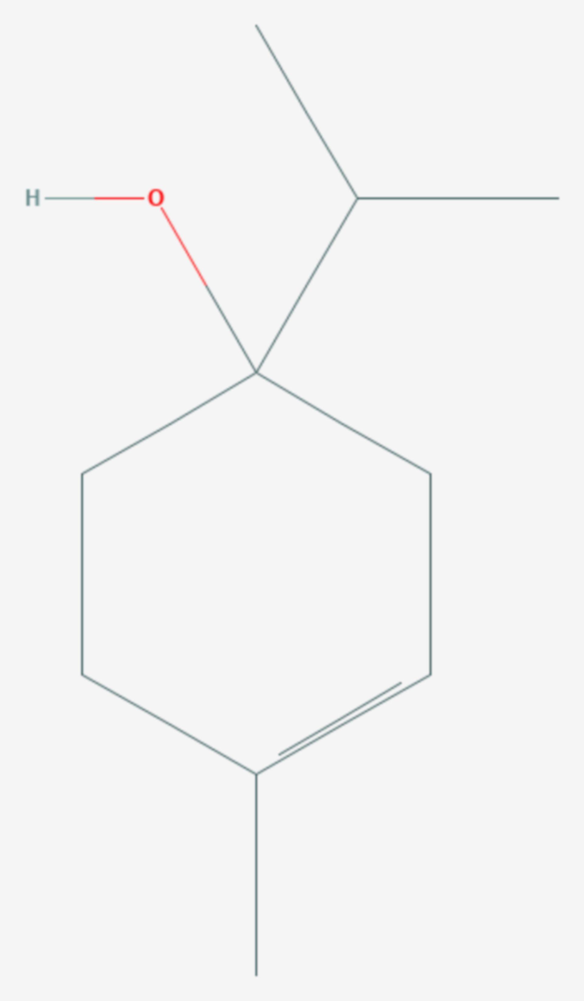Terpinen-4-ol (Strukturformel)