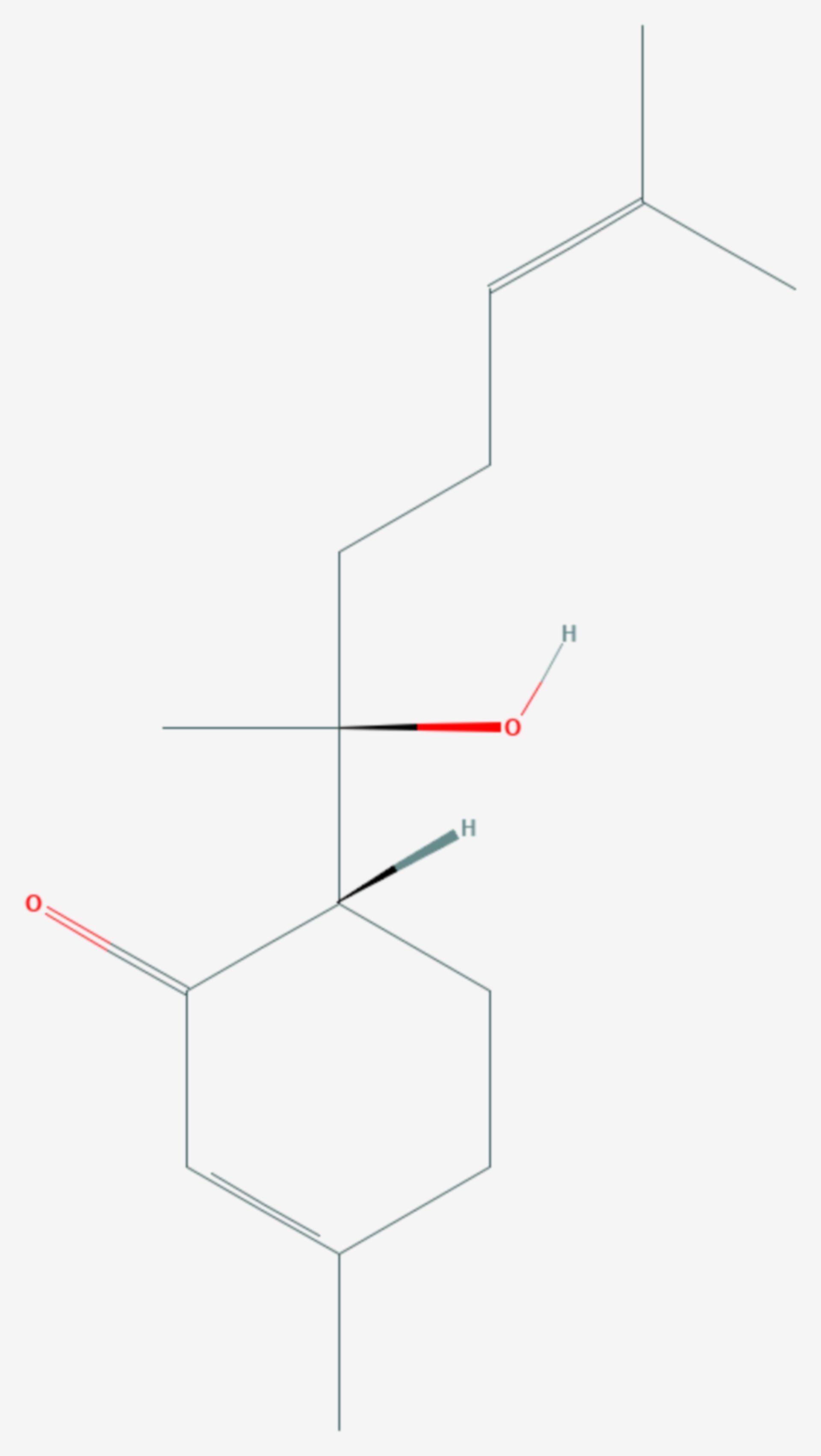 Hernandulcin (Strukturformel)