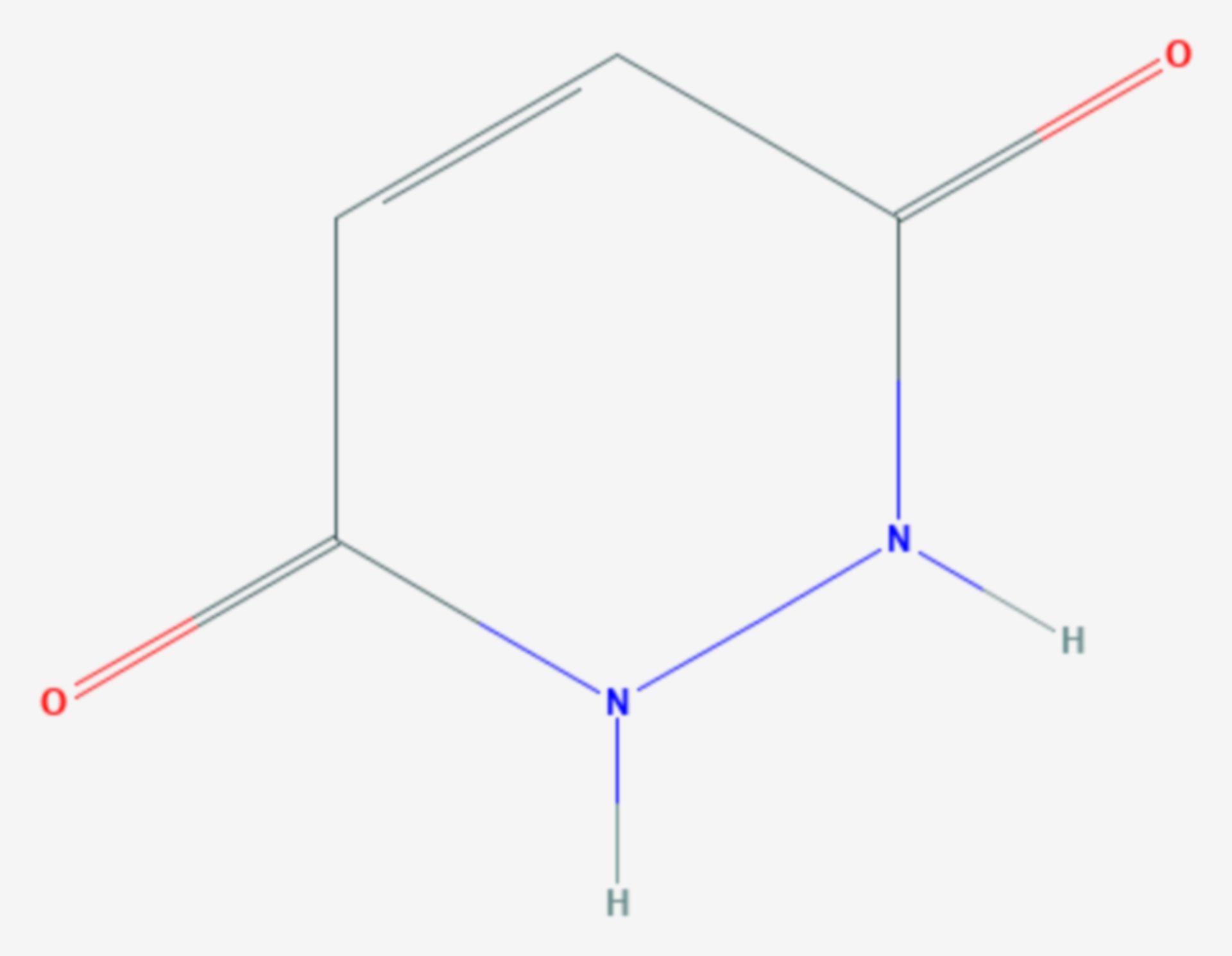 Maleinsäurehydrazid (Strukturformel)