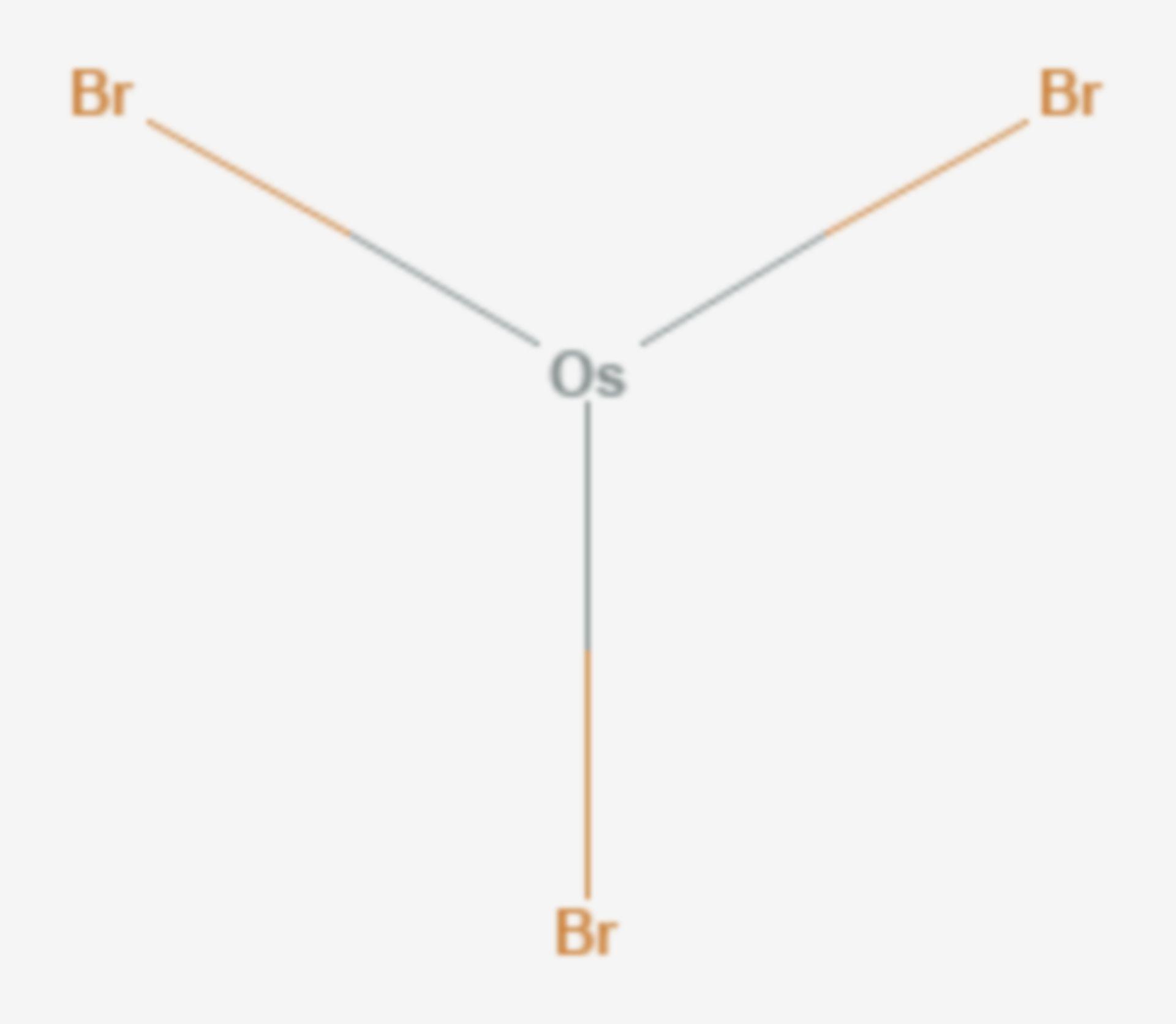 Osmium(III)-bromid (Strukturformel)