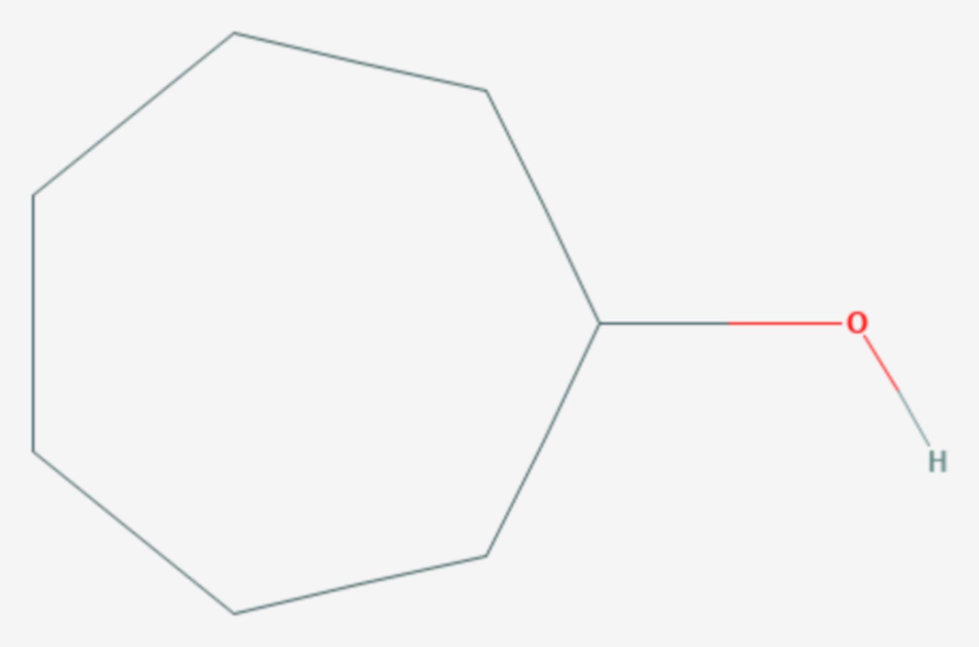 Cycloheptanol (Strukturformel)