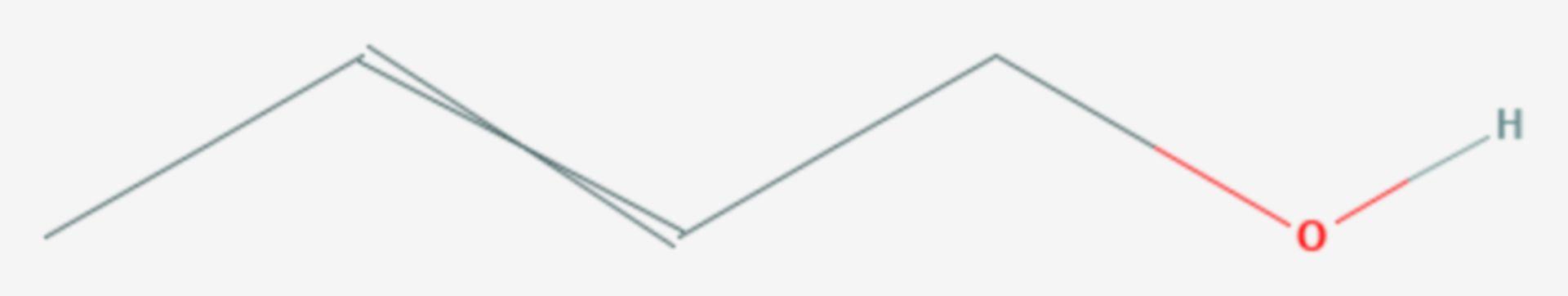 Crotylalkohol (Strukturformel)