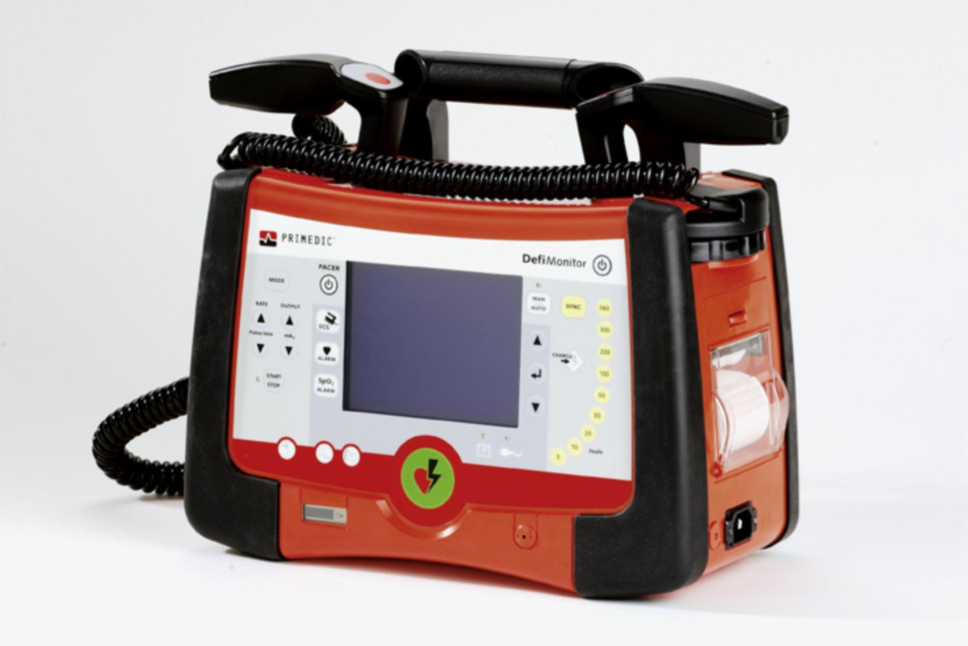 Defibrillatore con monitor