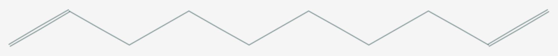 1,9-Decadien (Strukturformel)