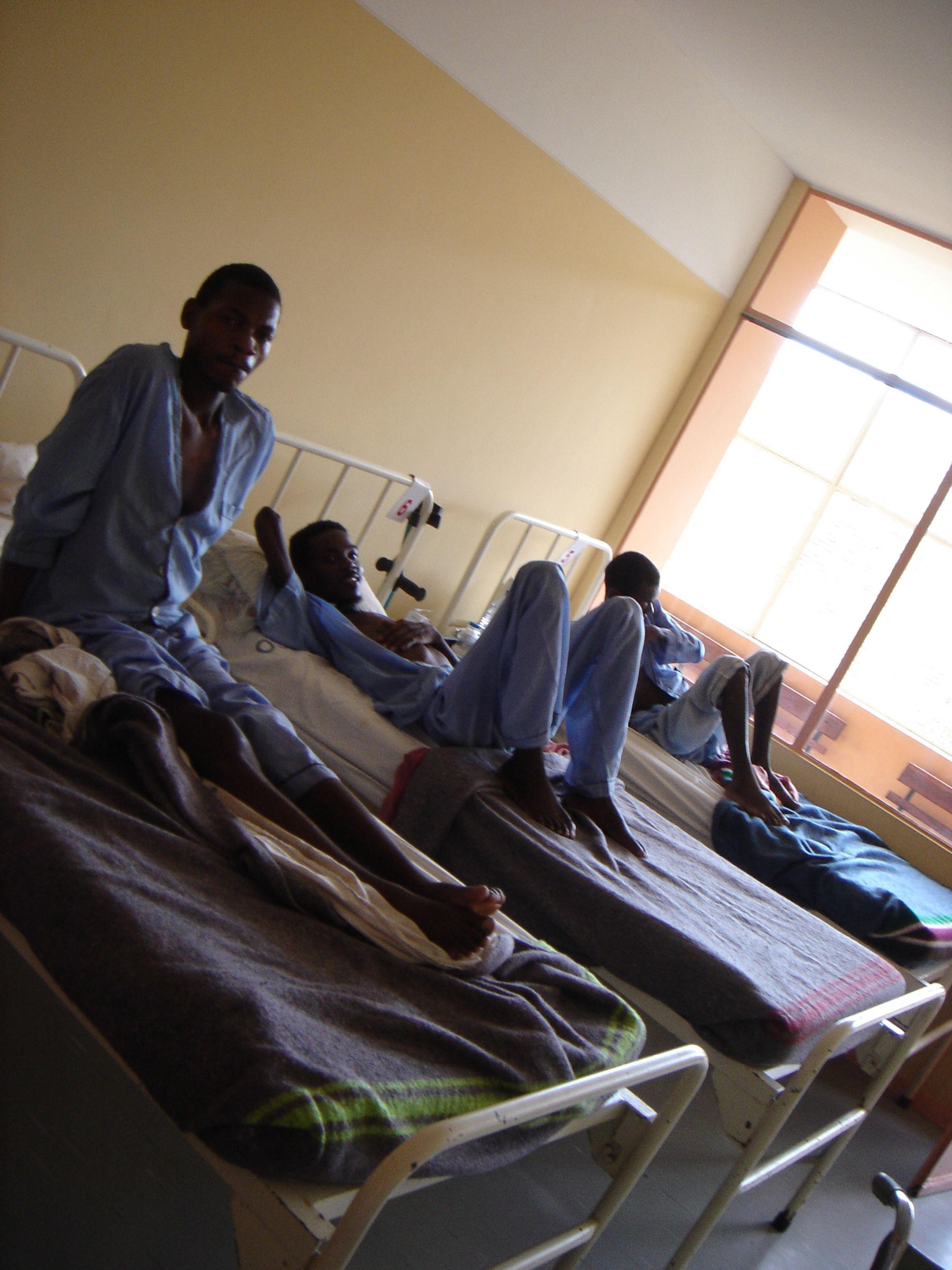 Stanza pazienti HIV