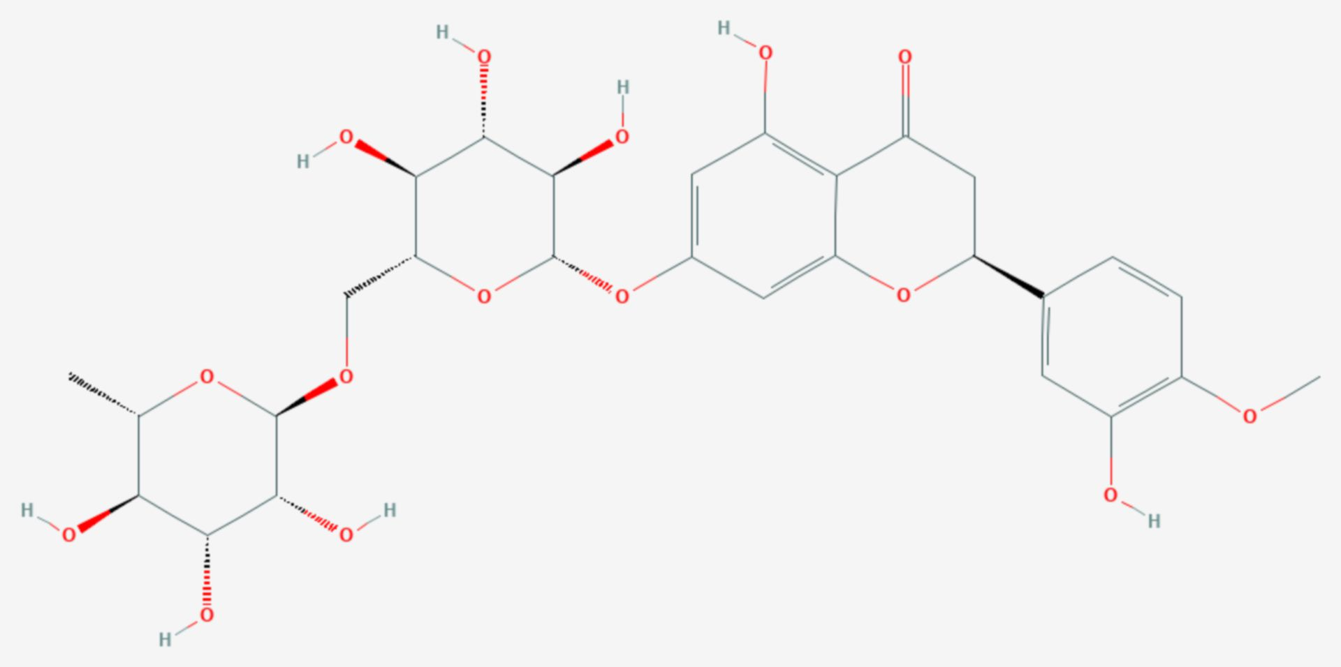 Hesperidin (Strukturformel)