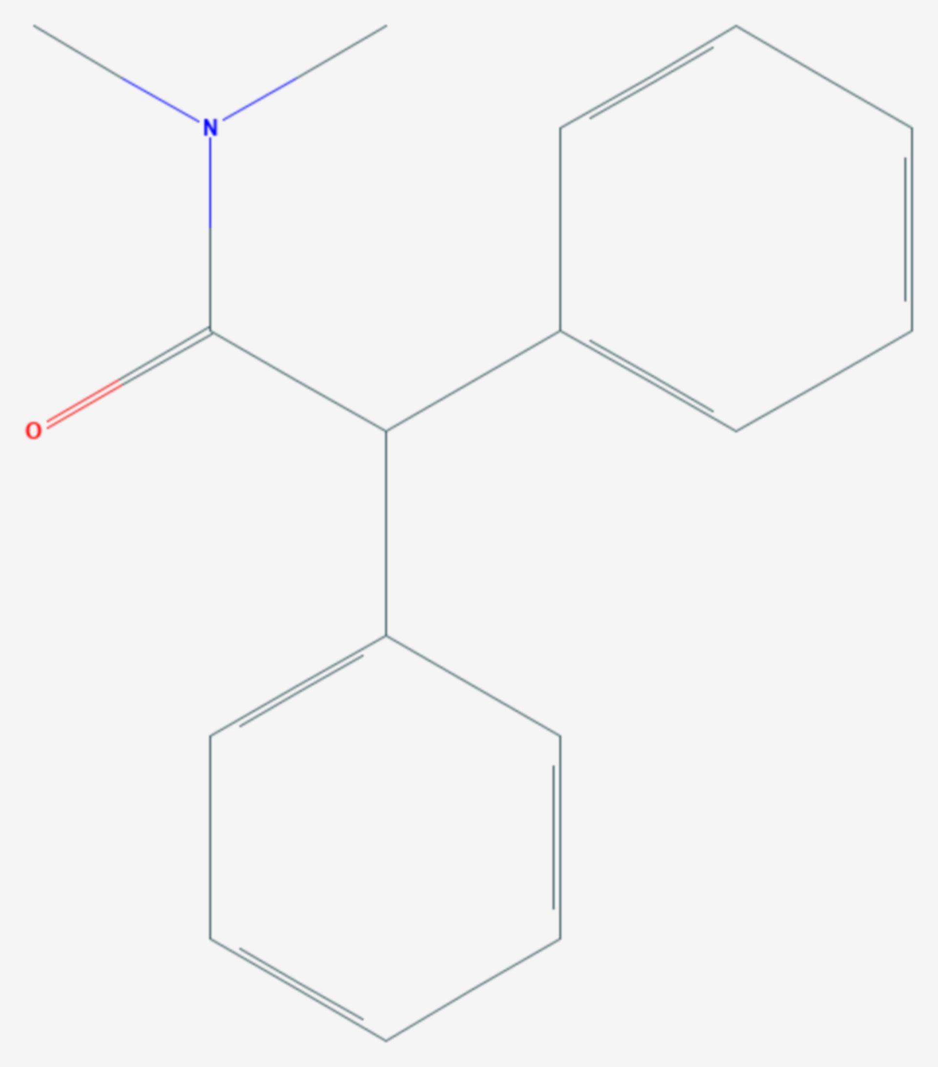 Diphenamid (Strukturformel)