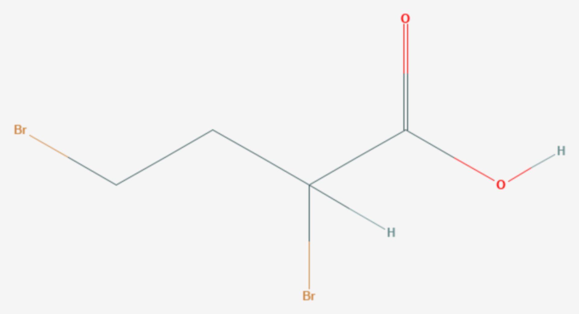 2,4-Dibrombuttersäure (Strukturformel)