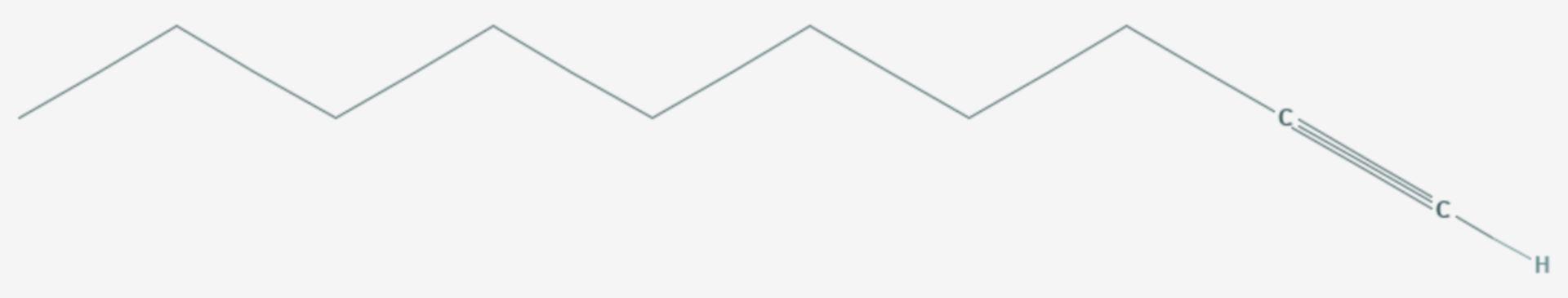 1-Decin (Strukturformel)