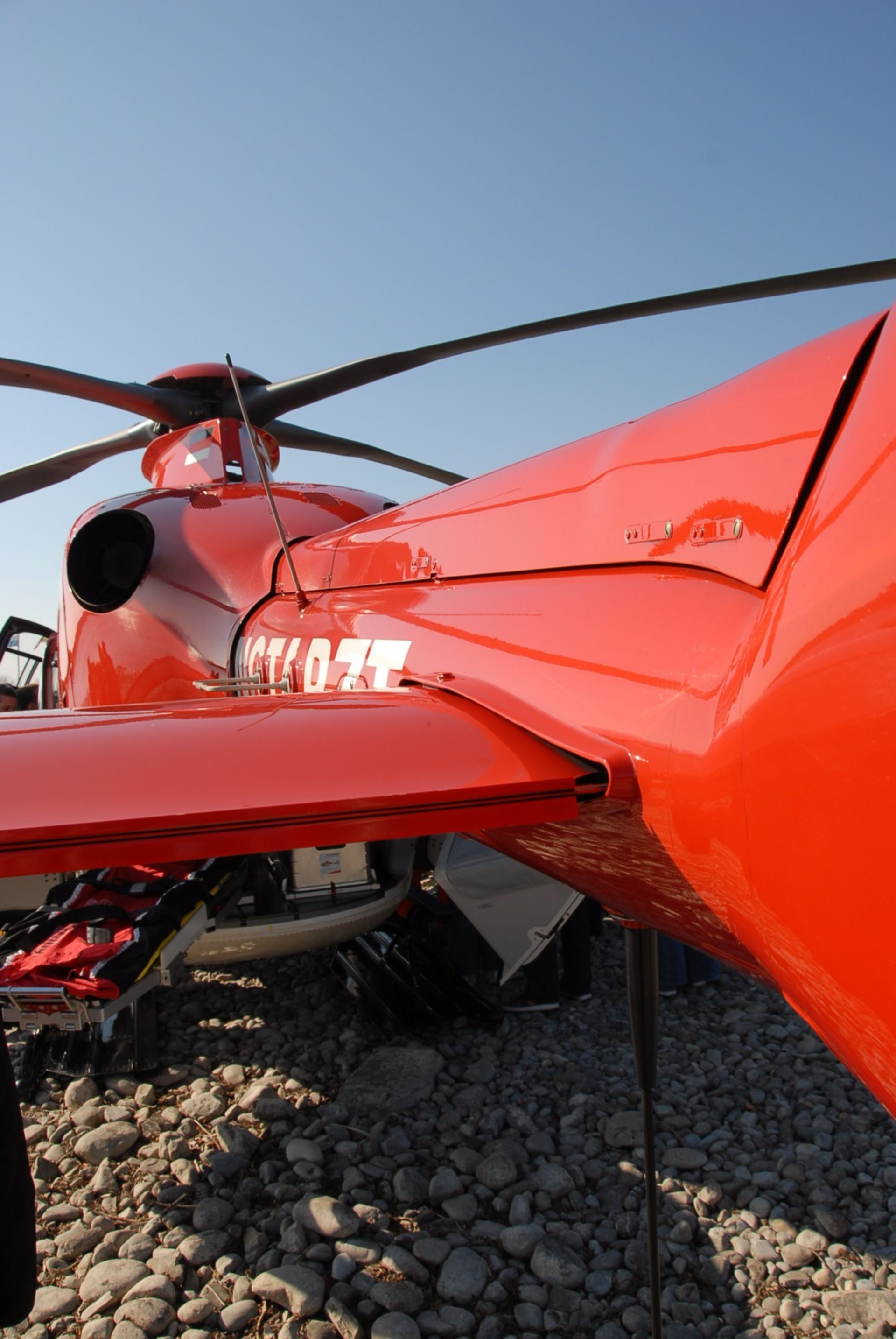 Rescue Helicopter, Close-up