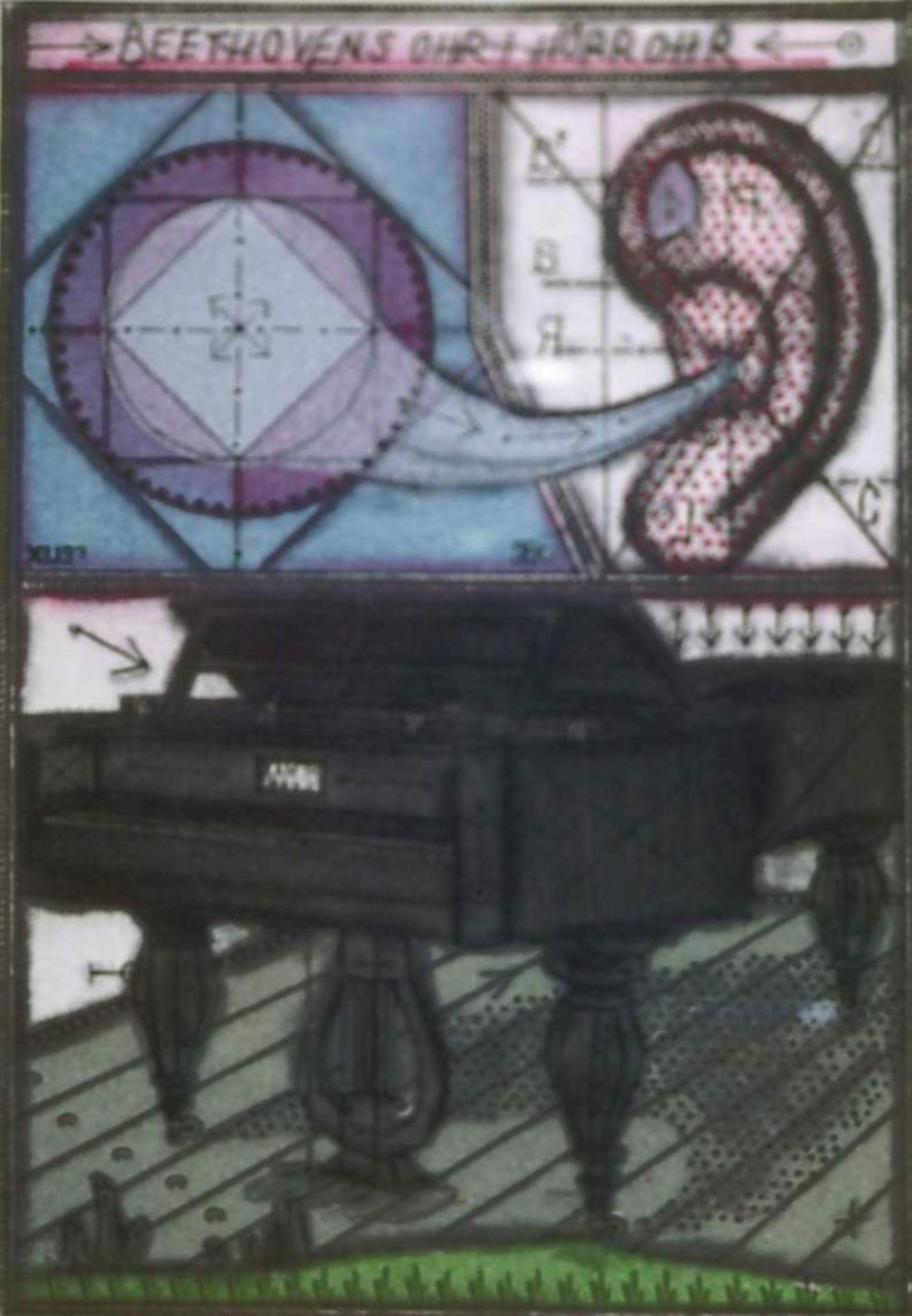Orecchio e  tromba di Beethoven