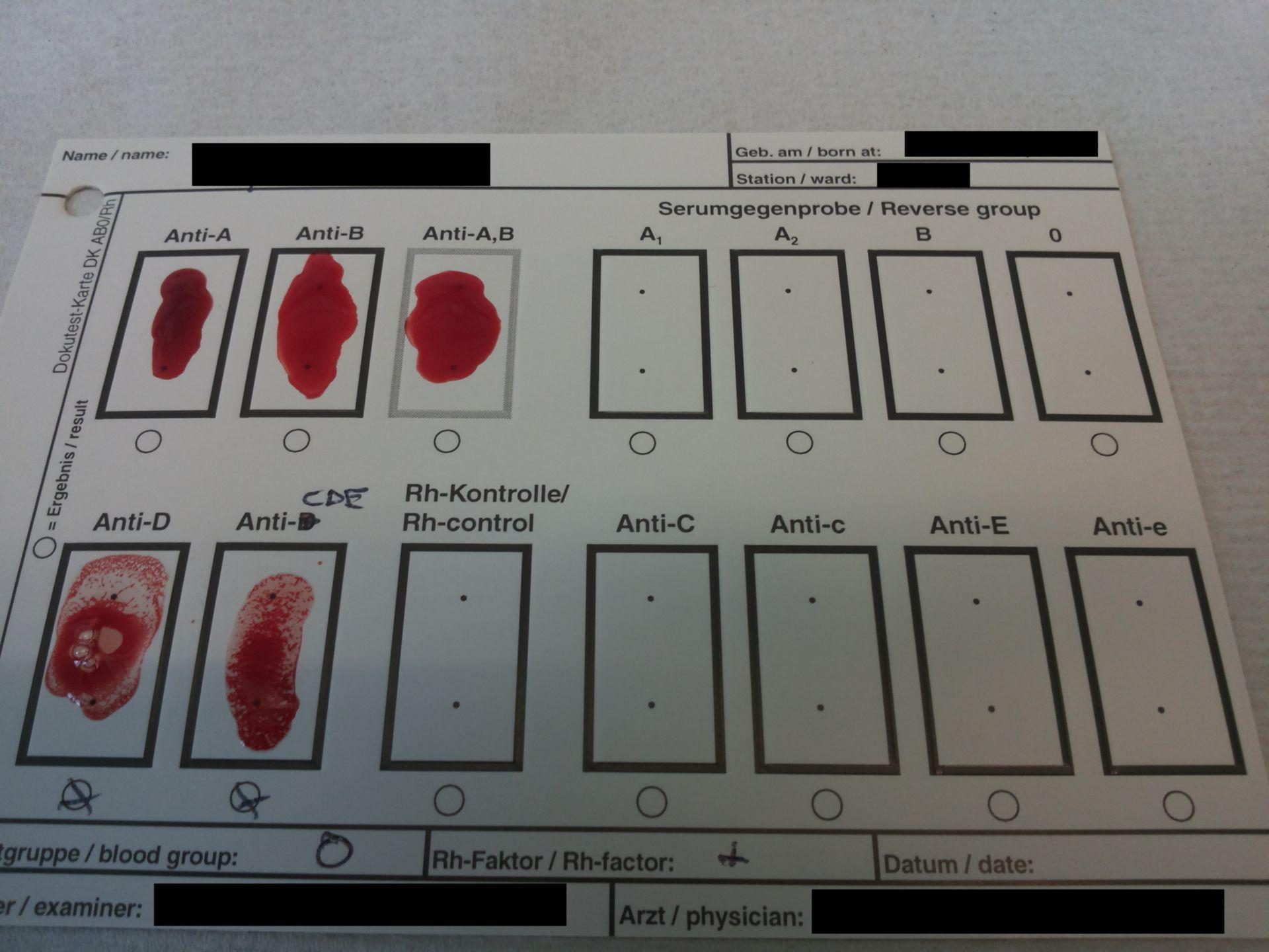 Docu Test Card