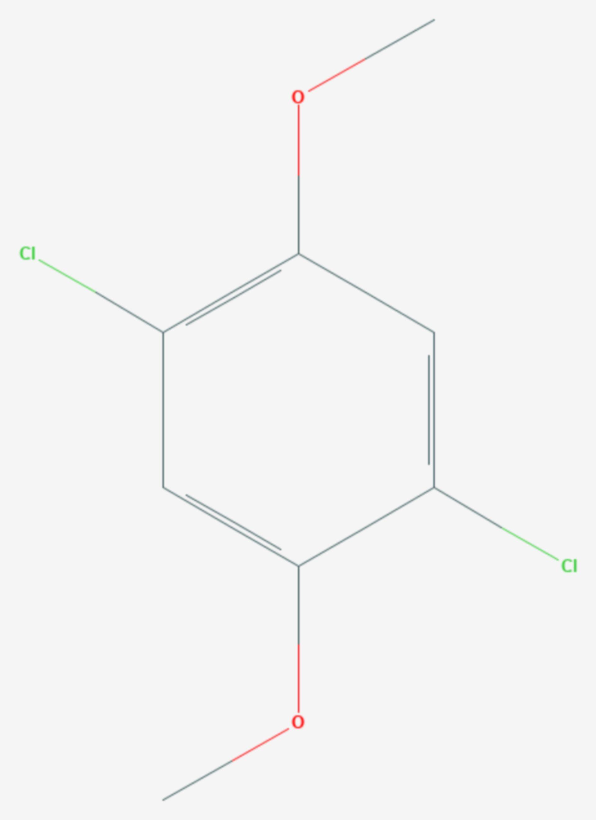 Chloroneb (Strukturformel)