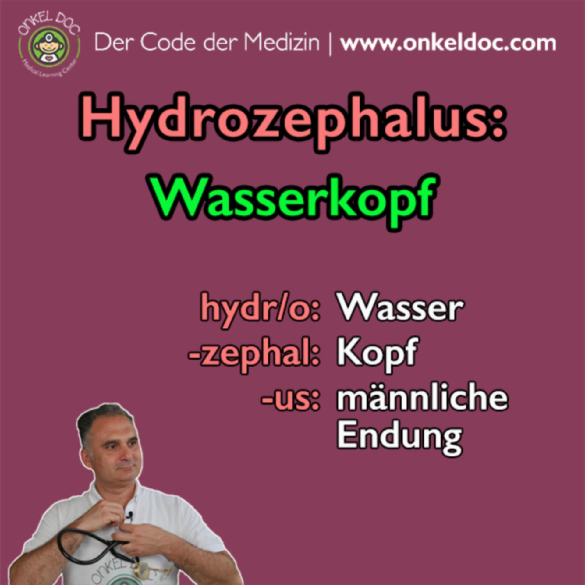 Der Code zum Hydrozephalus