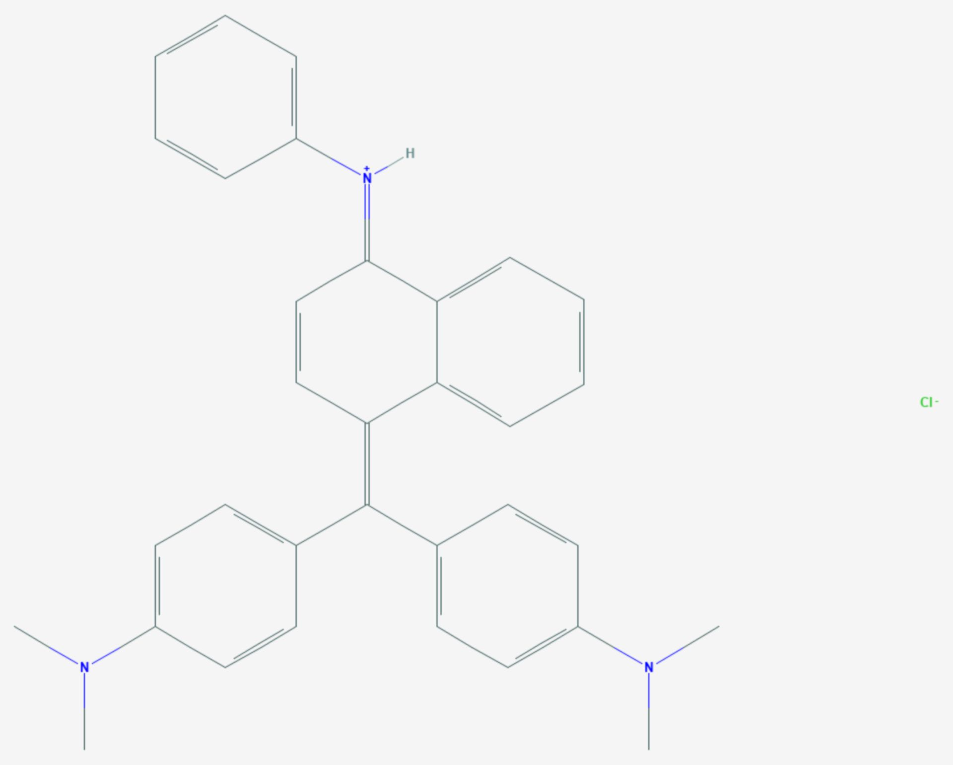 Nachtblau (Strukturformel)